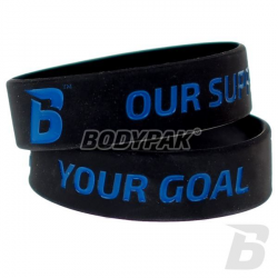 BODYPAK Opaska na rękę YOUR GOAL BLACK - 1 szt.