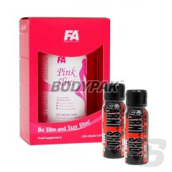 FA Nutrition Pink Slim - 120 kaps. [11.2015] + UNS CARNI SHOT - 60ml [GRATIS]